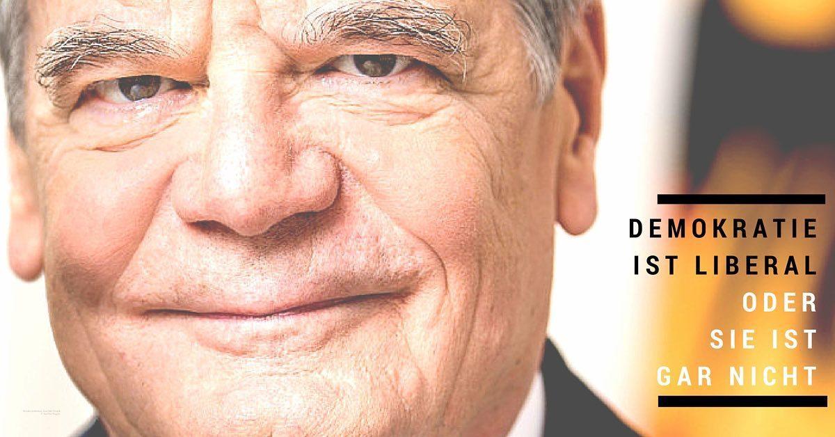 Bundespräsident Joachim Gauck © Steffen Kugler