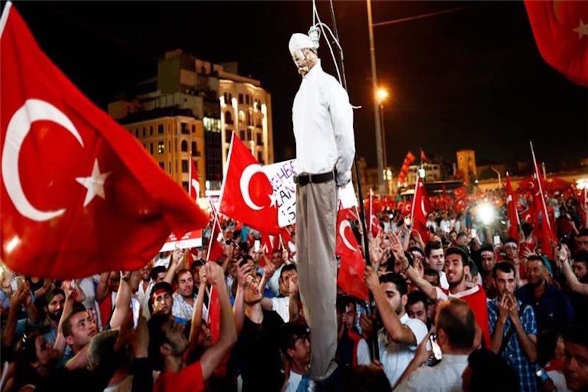 Todesstrafe in der Türkei geplant