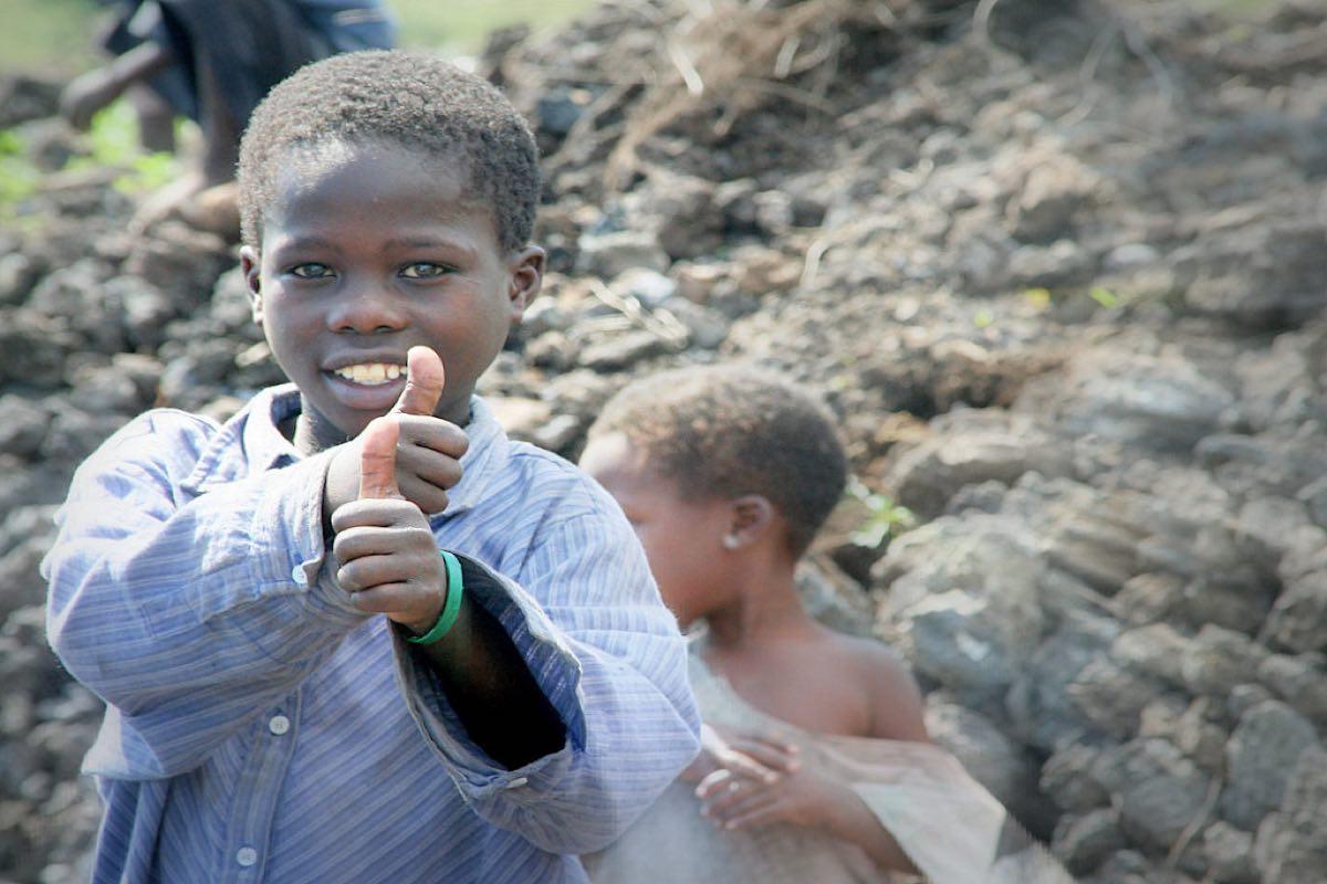 Junge im Tschad, Nachbar Afrika © Tom Rübenach