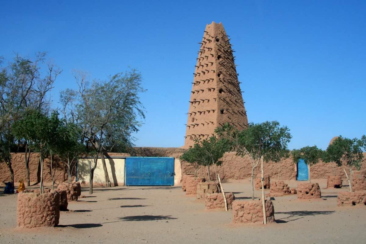 Moschee in Agadez im Niger © Tom Rübenach