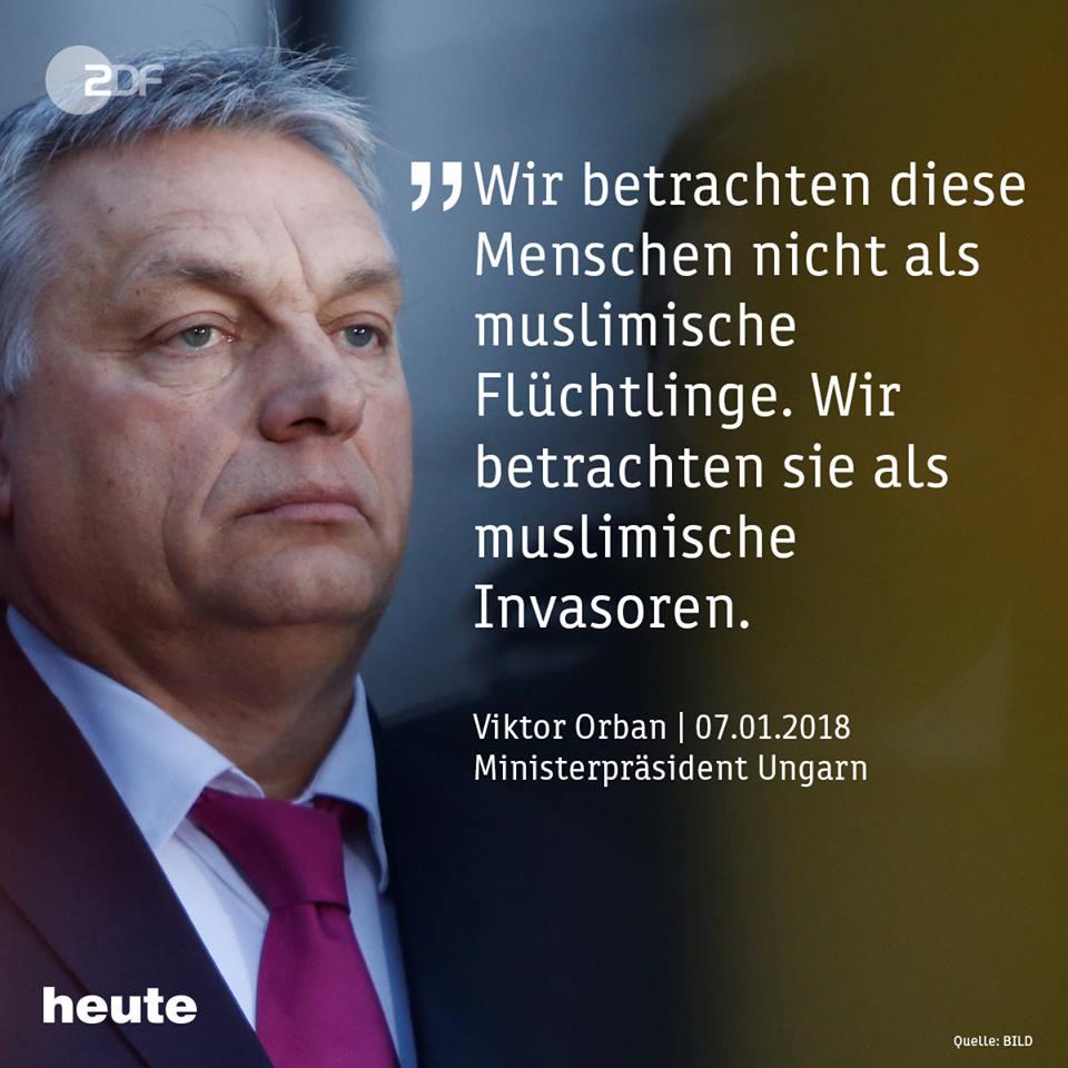 Die Sprache des Hasses: Orbán