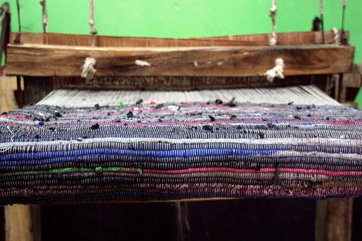 Flickenteppich made in Bangladesh - nicht im Rana Plaza © Tom Rübenach